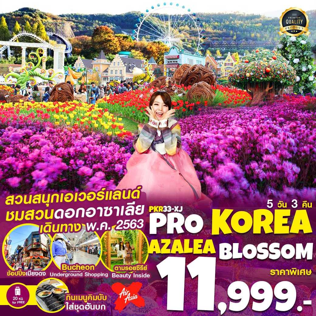PRO KOREA AZALEA BLOSSOM 5D3N (PKR33-XJ)